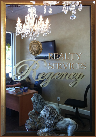Regency Realty crystal enterance